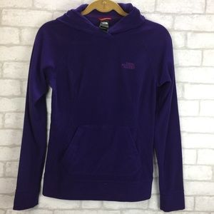 The North Face Purple Hoodie Long Sleeve XS